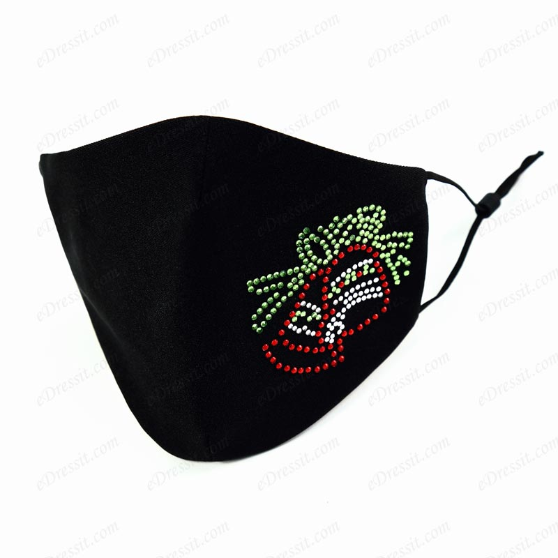 Fashion Masks Christmas Dust Proof Face Mask with Handmade Beads (Mask020)