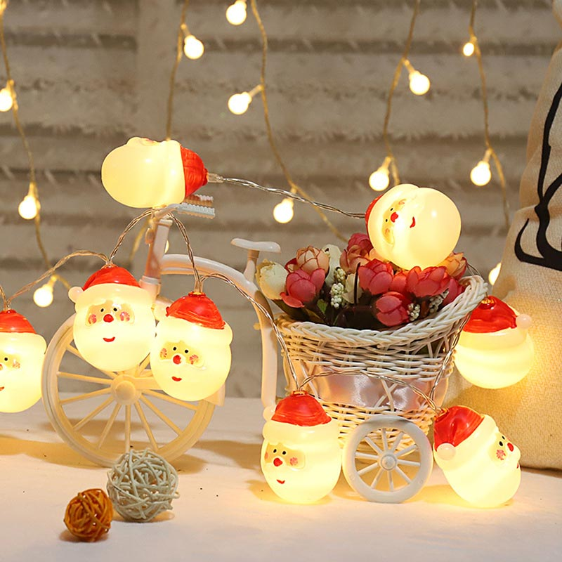 Santa Claus Christmas Window Hanging Festive Decoration Lights (TA0018)