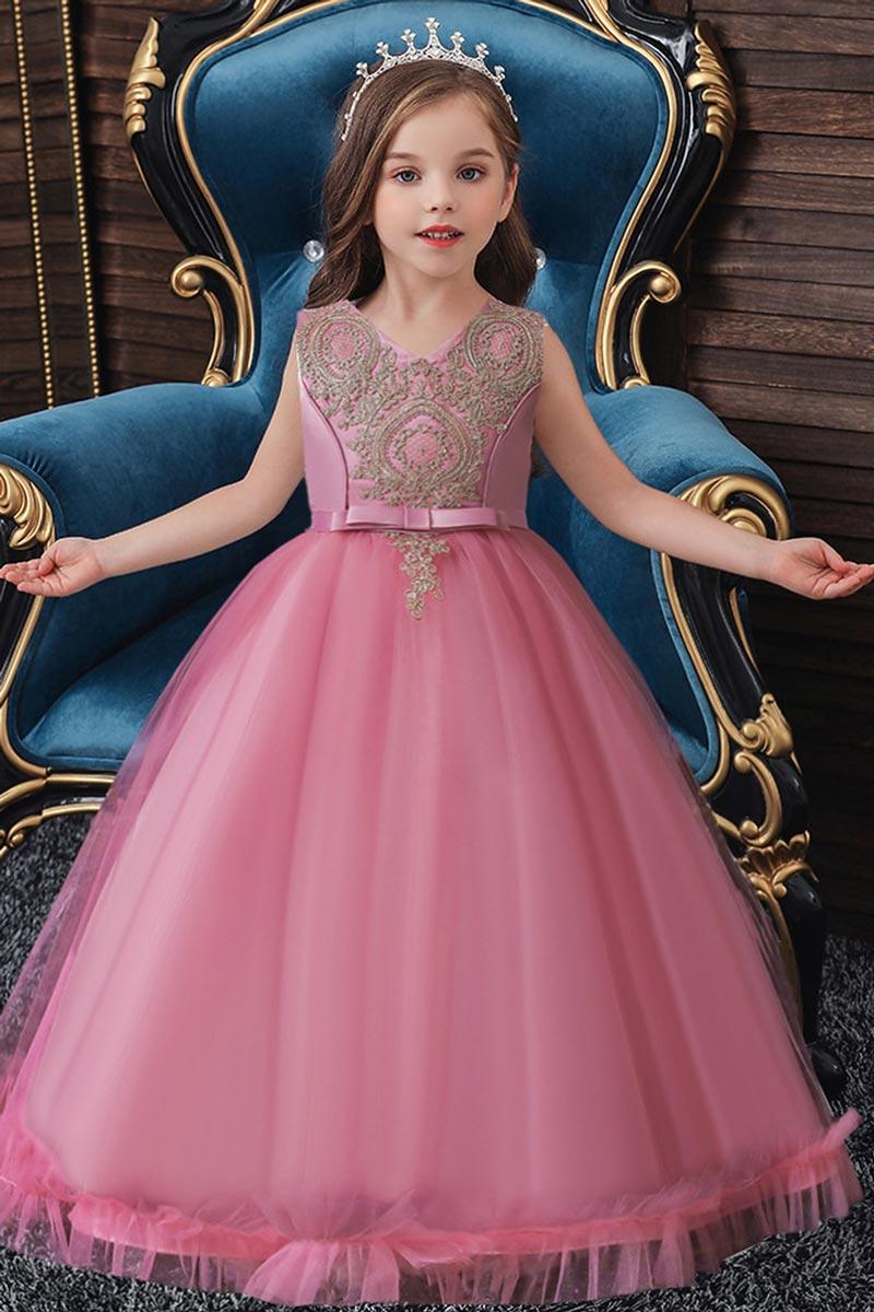 eDressit Girls Princess Flower Dress Kids Prom Puffy Ball Gowns (27211801)