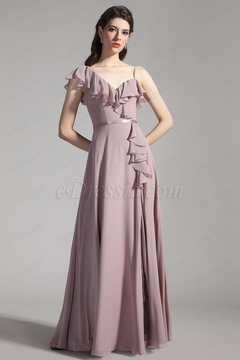 eDressit Feuille de Lotus Robe de Demoiselle d'Honneur (07200546)