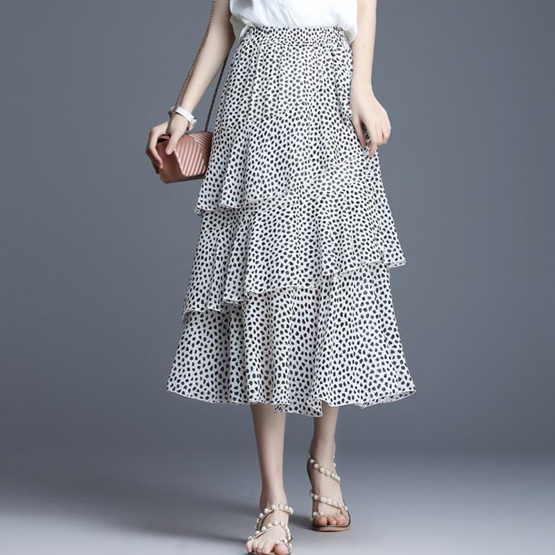 eDressit Spot Layered Summer Holiday Party Maxi Skirt Dress (T440005)
