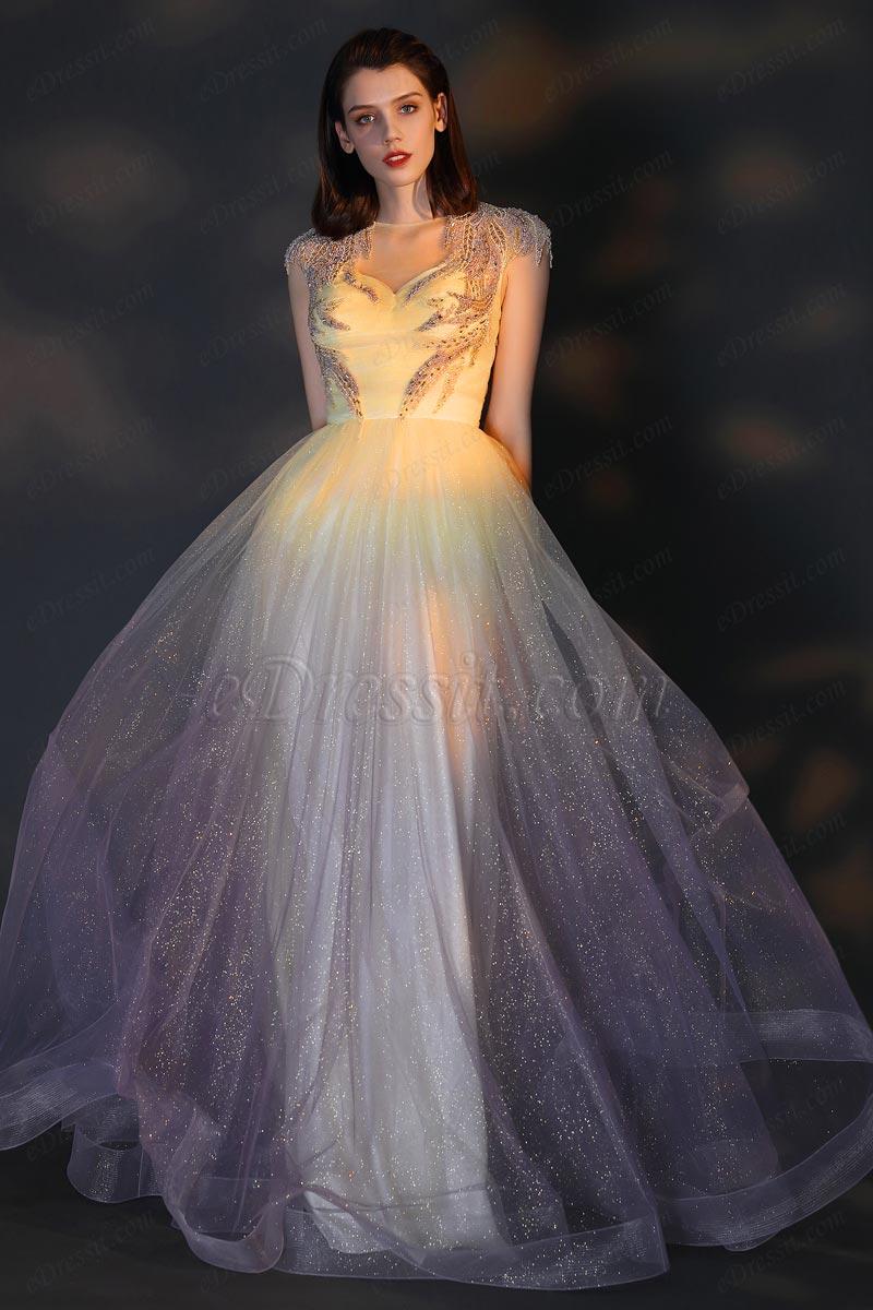 eDressit Великолепное вечернее платье с блестками и вышивко (02206256)