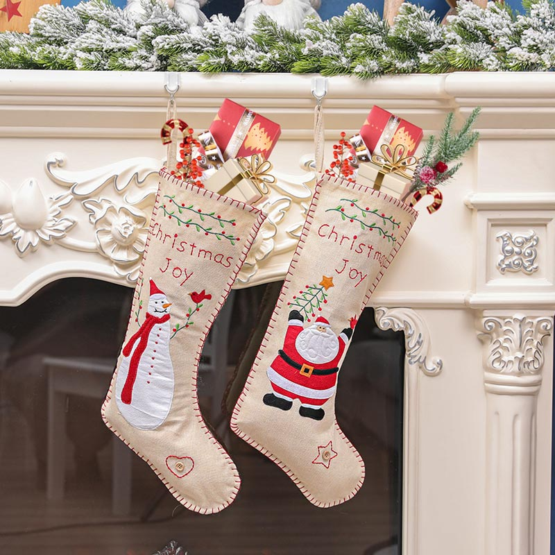 eDressit Cute Candy Socks Sant Claus Long Christmas Socks (TF0009)