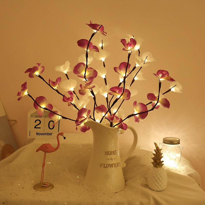 Creative Simulation Phalaenopsis LED Christmas Light (TA0008)