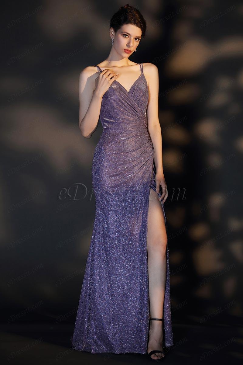 eDressit Robe de Soirée Brillante à Découpes V (02204706)