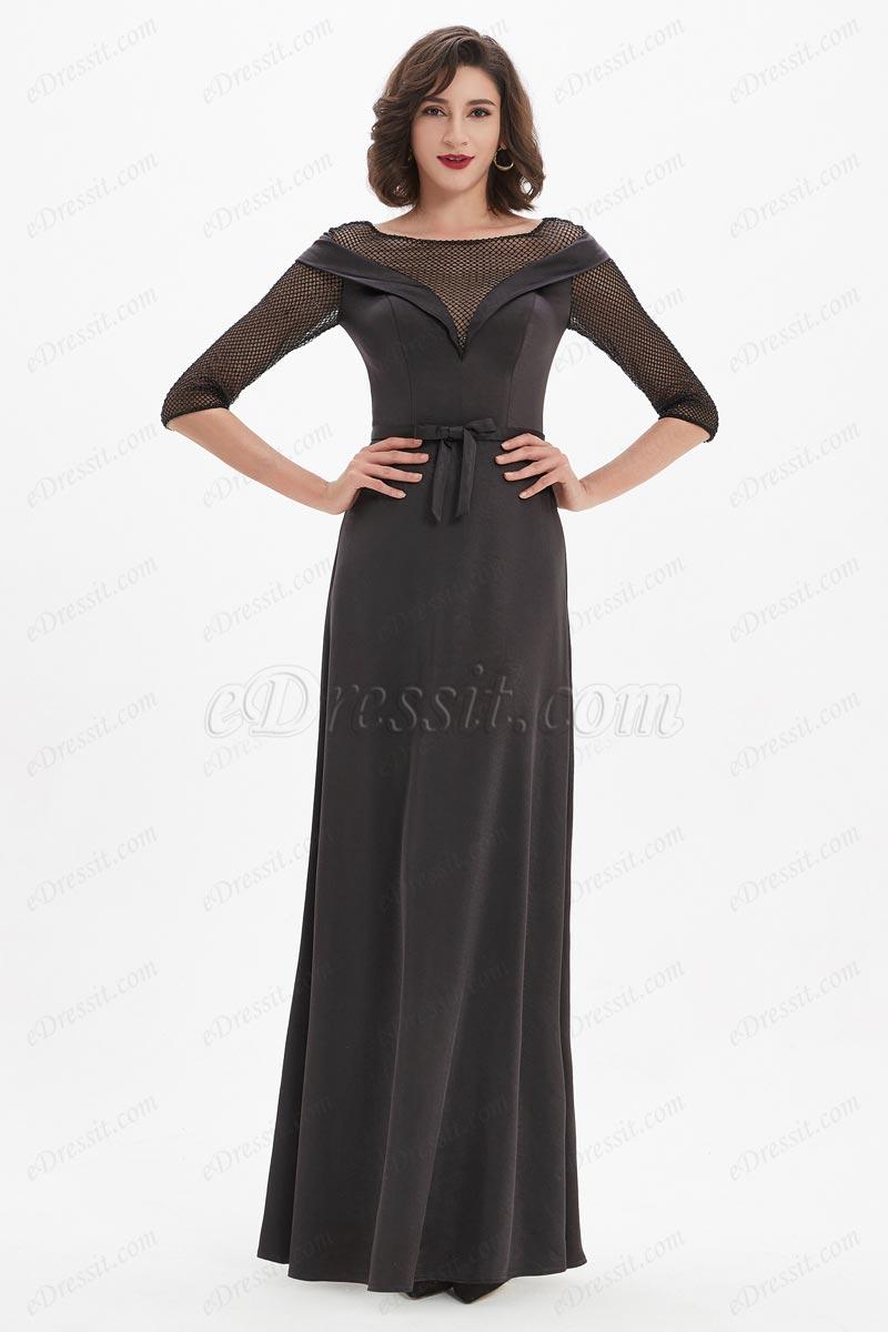 eDressit Unique Top Design Off Shoulder with Net Fabric Party Evening (26210900)