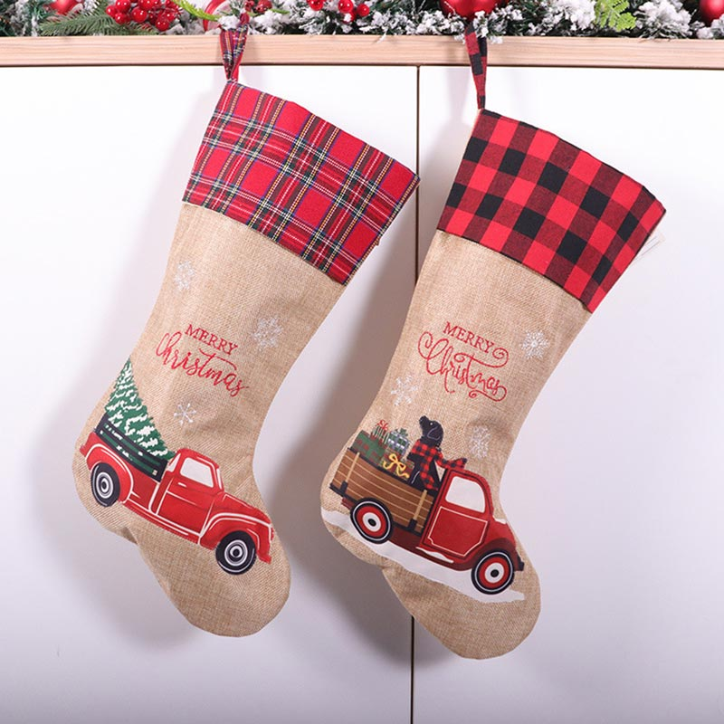 eDressit Christmas Gift Socks Candy Bags with Car Pattern (TF0010)