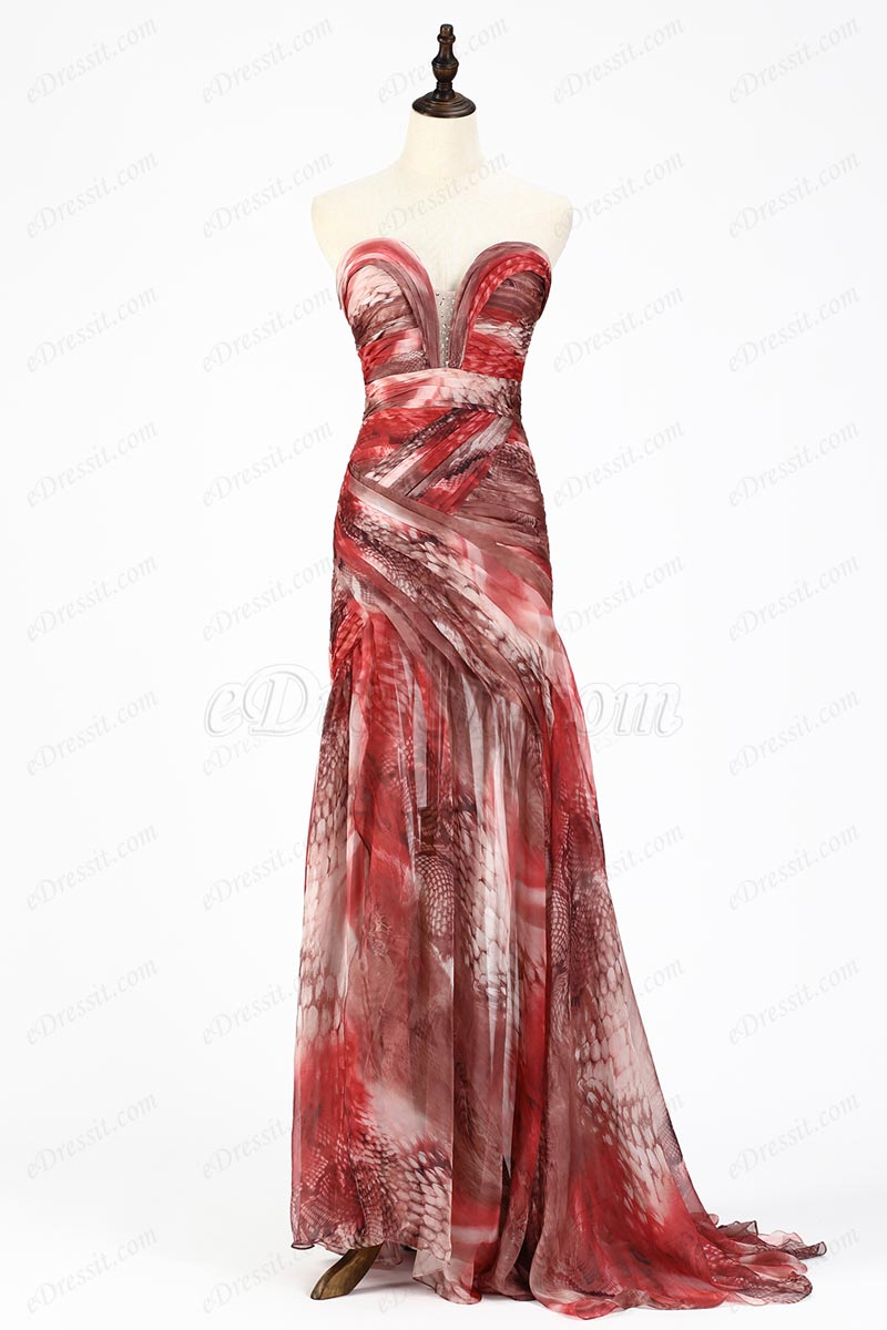 eDressit Best Selling Sweetheart Printed Evening Prom Dress (X00120568)