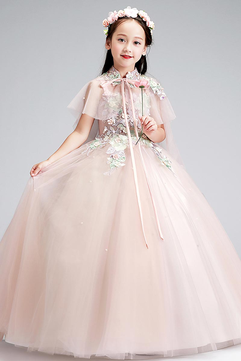 eDressit Lovely Pink Embroidery Lace Wedding Flowergirl Dress (27210301)