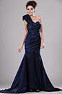 eDressit Einschulter Faltig Abendkleid (00113205)