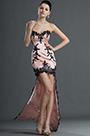 eDressit Maravilloso Ajustado Negro Encaje Escote de Cariño Vestido de Coctel (04124401)