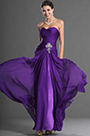 Sweetheart Strapless Purple Prom Gown Evening Dress (00129506)