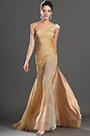 eDressit New High Slit One Shoulder Gold Evening Dress (00133224)