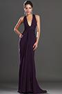 eDressit New Adorable Halter Dark Purple Evening Dress (00130806)