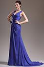 eDressit New Adorable Sexy V Cut Blue Evening Dress (00136205)