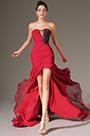 eDressit Stunning Red High Split Strapless Evening Dress (00134602)