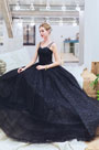 eDressit Sexy Black Straps Sequins Puffy Prom Party Dress (36222800)