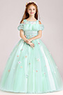 eDressit Tulle Handmade Wedding Flower Girl Party Dress (27197404)