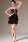 eDressit Black Strapless Mini-Skirt Tulle Cockail Dress (04140300)