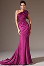 eDressit Fuchsia One-Shoulder Sheath Evening Gown (02142512)