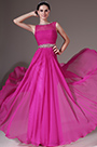eDressit Sheer Top Sleevless Pink Evening Dress (00145112)