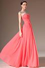 eDressit Sheer Top Round Neck Full-Length Prom Dress(02143757)
