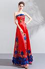 eDressit Sexy Red Corset Embroidery Stylish Party Ball Dress (36201002)