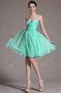 Turquoise Sweetheart Bridesmaid Dress (C07141404)