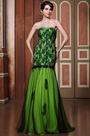 Beaded Sweetheart Neck Floral Lace Prom Dress Ball Gown (C36144804)