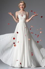 eDressit White Sleeveless Evening Dress Wedding Gown (01141707)