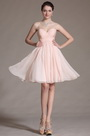 Pink Lovely Sweetheart Bridesmaid Dress (C07141001)