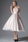 eDressit Simple Strapless Vintage Prom Dress Formal Gown (04145107)