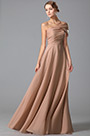 Gorgeous Floor Length Evening Gown With Stylish Shoulder Design (00150146)