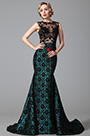 eDressit Sleeveless Black Lace Floral Skirt Evening Gown (02151205)