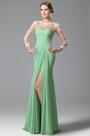 eDressit Long Sleeves Slit Bridesmaid Dress Evening Gown (00150304)