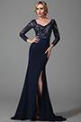 eDressit Long Sleeves Slit Mother of the Bride Dress (26152505)