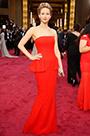 Robe longue bustier Jennifer Lawrence pour Academy Awards (cm1406)