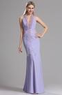 eDressit Lavendel Halter Abschlussball Abendkleid (00030606)