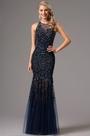 eDressit Sleeveless Navy Blue Heavy Beaded Formal Gown (36162105)