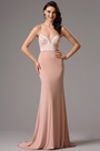 Spaghetti straps Prom Evening Dress Formal Gown (02161601)