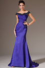 Off-Shoulder Purple Evening Gown Prom Dress (H02143605)