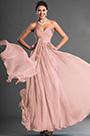 Strapless Sweetheart Pink Evening Dress Prom Dress (H00129005)