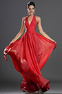 Sexy Halter Neck Red Evening Dress Prom Dress (H00132603)