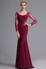 eDressit Long Sleeves Sweetheart Neckline Mermaid Prom Dress (02163912)