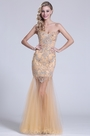 eDressit Strapless Sweetheart Beaded Beige Prom Dress (C36150914)
