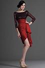 Sequin Burgundy Cocktail Dress Party Dress (H26125205)