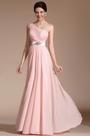 Gorgeous Pink One shoulder Evening Dress(C00140501)