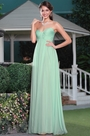 Strapless Sweetheart Mint Bridesmaid Dress Evening Dress (07156204)