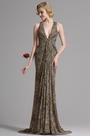 eDressit Halter Leopard Print Prom Evening Dress (X00130841)