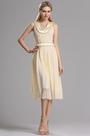 eDressit Sleeveless Pleated Layered Short Dress (00030514)